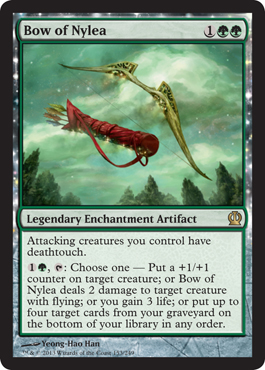Bow of Nylea | Magic: The Gathering Card