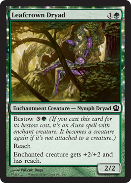 Leafcrown Dryad | Magic: The Gathering Card