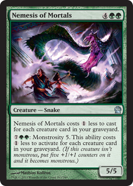 Nemesis of Mortals | Magic: The Gathering Card