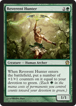 Reverent Hunter | Magic: The Gathering Card
