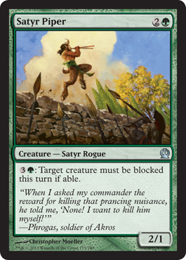 Satyr Piper | Magic: The Gathering Card