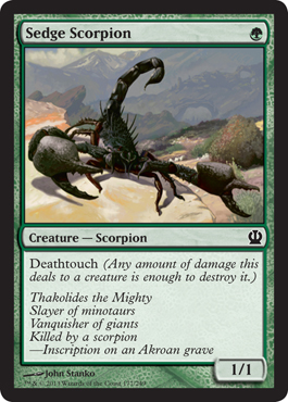 Sedge Scorpion | Magic: The Gathering Card