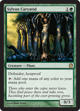 Sylvan Caryatid | Magic: The Gathering Card