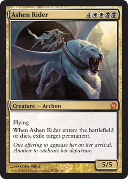 Ashen Rider | Magic: The Gathering Card