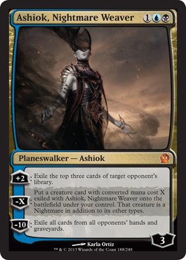 Ashiok, Nightmare Weaver in Theros