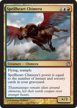 Spellheart Chimera | Magic: The Gathering Card