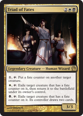 Triad of Fates | Magic: The Gathering Card