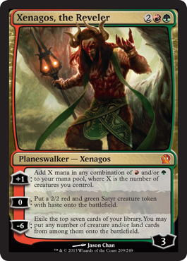 Xenagos, the Reveler in Theros