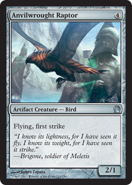 Anvilwrought Raptor | Magic: The Gathering Card