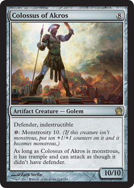 Colossus of Akros | Magic: The Gathering Card