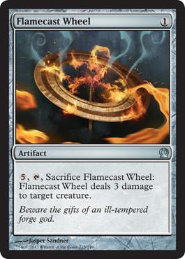 Flamecast Wheel | Magic: The Gathering Card