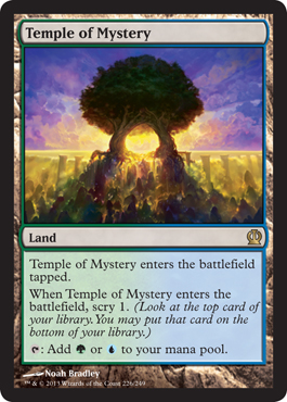 Temple of Mystery | Magic: The Gathering Card