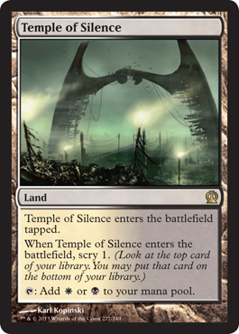 Temple of Silence | Magic: The Gathering Card