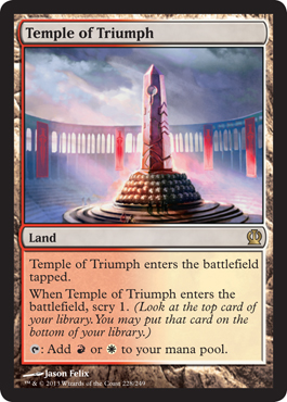 Temple of Triumph | Magic: The Gathering Card