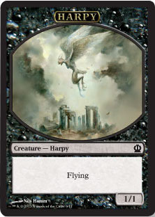 Harpy Token in Theros
