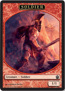 Soldier Token in Theros