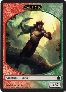 Satyr Token in Theros