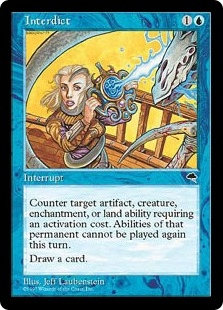 Interdict | Tempest | Magic: The Gathering at Planeswalker ... Planeswalker Activated Ability