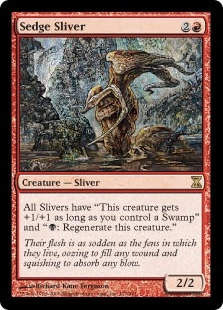 Sedge Sliver | Magic: The Gathering Card