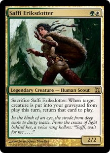 Saffi Eriksdotter | Magic: The Gathering Card