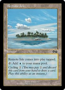 Remote Isle | Magic: The Gathering Card