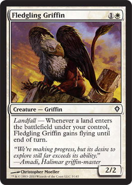 Fledgling Griffin | Magic: The Gathering Card