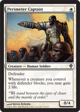Perimeter Captain | Magic: The Gathering Card
