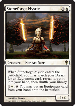 Stoneforge Mystic | Magic: The Gathering Card