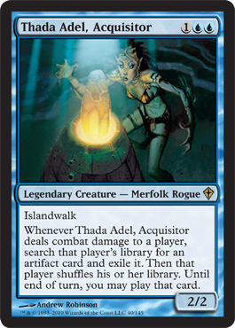 Thada Adel, Acquisitor | Magic: The Gathering Card