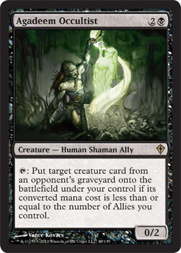 Agadeem Occultist | Magic: The Gathering Card