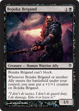 Bojuka Brigand | Magic: The Gathering Card