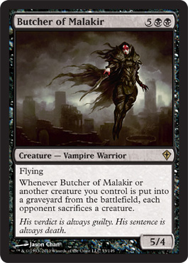 Butcher of Malakir | Magic: The Gathering Card