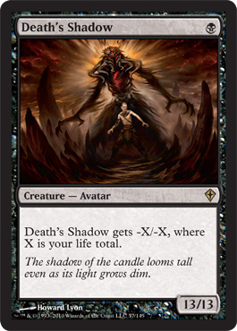 Death's Shadow | Magic: The Gathering Card