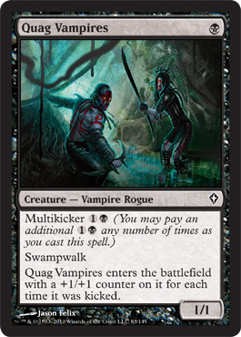 Quag Vampires | Magic: The Gathering Card