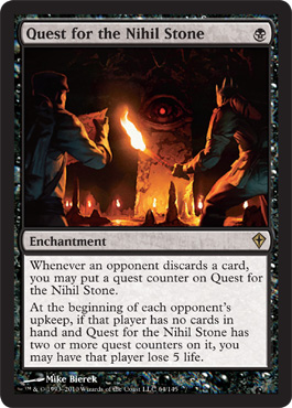 Quest for the Nihil Stone | Magic: The Gathering Card