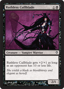 Ruthless Cullblade | Magic: The Gathering Card