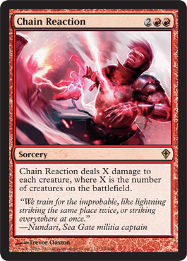 Chain Reaction | Magic: The Gathering Card