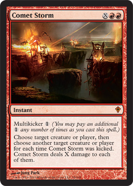 Comet Storm | Magic: The Gathering Card