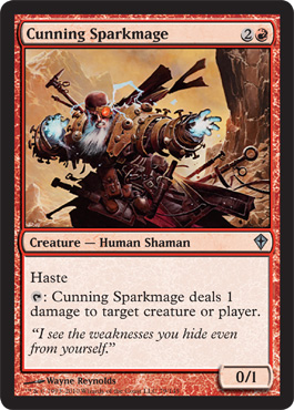 Cunning Sparkmage | Magic: The Gathering Card