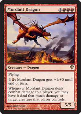 Mordant Dragon | Magic: The Gathering Card