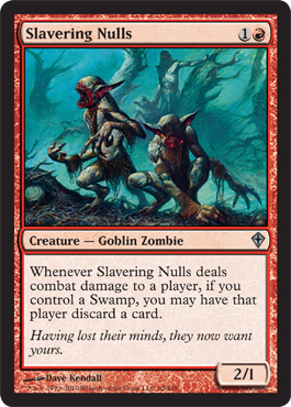Slavering Nulls | Magic: The Gathering Card