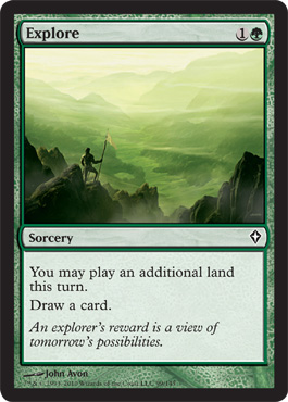 Explore | Magic: The Gathering Card