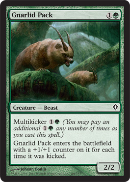 Gnarlid Pack | Magic: The Gathering Card