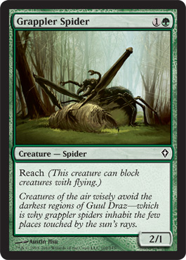 Grappler Spider | Magic: The Gathering Card