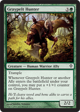 Graypelt Hunter | Magic: The Gathering Card