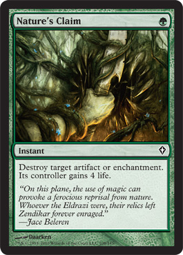 Nature's Claim | Magic: The Gathering Card