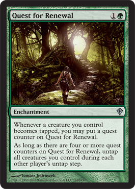 Quest for Renewal | Magic: The Gathering Card