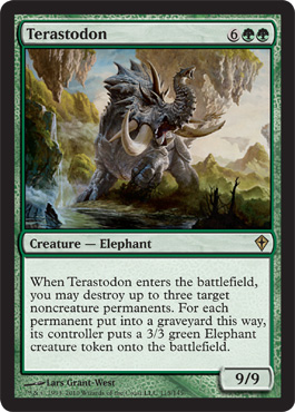 Terastodon | Magic: The Gathering Card