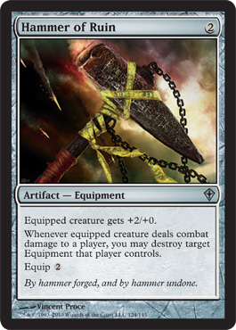 Hammer of Ruin | Magic: The Gathering Card