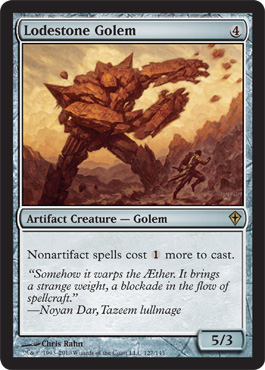 Lodestone Golem | Magic: The Gathering Card